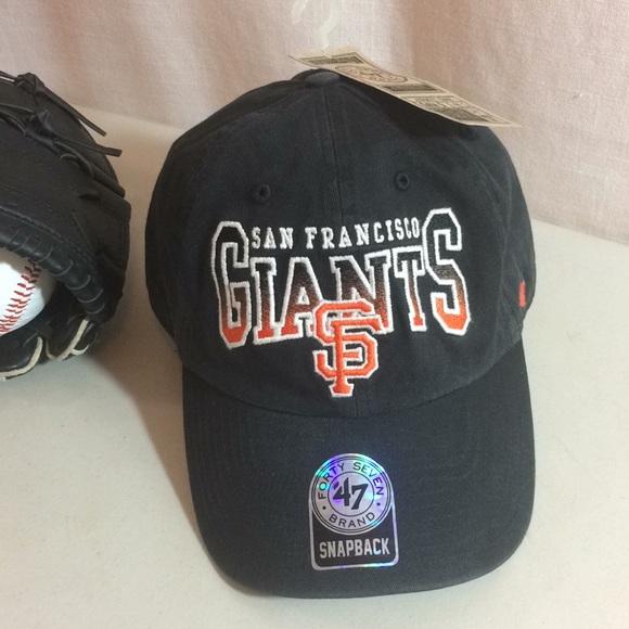 f6ce7e10e9489 HP💎SF GIANTS Baseball Hat Official MLB SnapBack⚾️